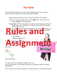 Download Let's Write! Rules and Assignment