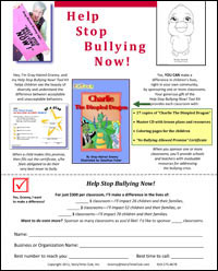 Help Stop Bullying Flier